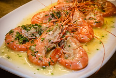 BC Spot Prawns at Provence Marinaside