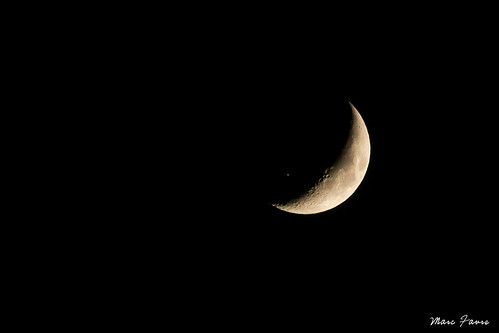 Transit de l'ISS devant la lune