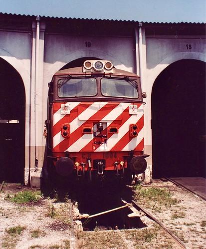 Diesel locomotive CP 1804