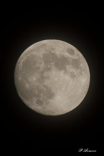 Lune GIBBEUSE 04 06 2020 au Mayne