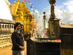 Swayambhunath Temple, Kathmandu, Nepal, 尼泊尔