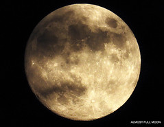 Cloudy Full moon