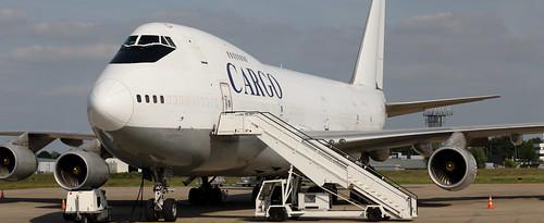 B-747, 4L-GEO, Geo-Sky, Maastricht Airport, 20 May 2020