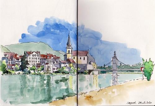 Seyssel, France