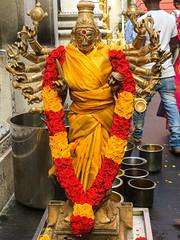 Sri Srinivasa Perumal temple, Little India, Singapore- Goddess of Mercy