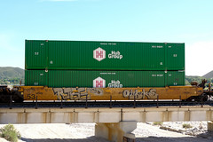 Freight Train Graffiti in SoCal - 05-31-2020