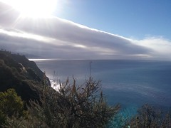 Sun Dancing On Clouds at Big Sur