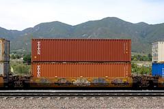 Freight Train Graffiti in SoCal - 05-31-2020