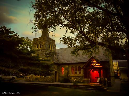 Evening church