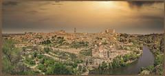Toledo Spain Sundown