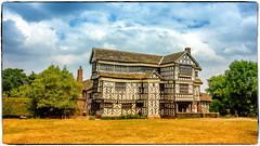 Little Moreton Hall, Congleton in Cheshire, England