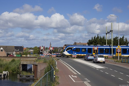 Overweg Beeklaan, Hillegom, the Netherlands