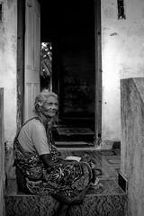 Portrait de femme, Village de Anumandhai,Tamilnadu