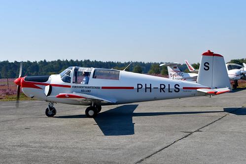 PH-RLS Saab 91D cn 91-436 B. Wuijts (RLS-markings) 190824 Zoersel 1001