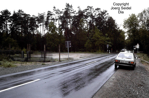 DE-38465 Brome Bundesstraße 248 Ehemalige Innerdeutsche Grenze im Mai 1991