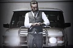 Séance Photos Range Rover Rock'N'Roll Warriors