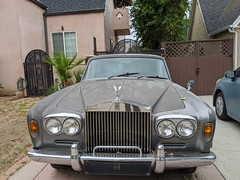 Rolls Royce, Carthay Square, Los Angeles, California, USA