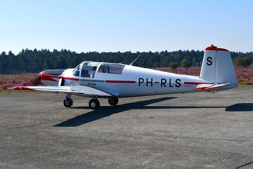 PH-RLS Saab 91D cn 91-436 B. Wuijts (RLS-markings) 190824 Zoersel 1002