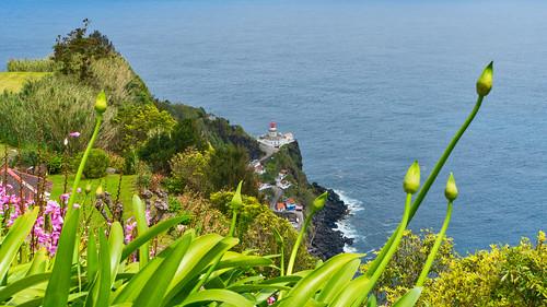 Farol do Arnel (Lighthouse Arnel, Azores, Portugal)