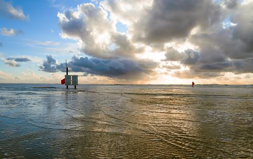 vliehors-high tide