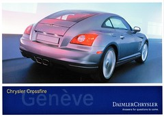 2002 Chrysler Crossfire Coupe Concept