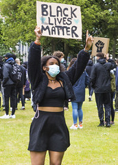 Black Lives Matter, Canterbury, Kent, June 6th 2020