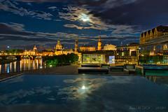 Vollmond über Dresden 3