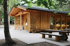 Hokkaido Shrine Cafe.