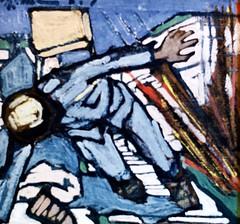 War Scene (1916-1918) - Cristiano Cruz (1892-1951)
