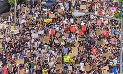 2020.06.06 Protesting the Murder of George Floyd, Washington, DC USA 158 20208