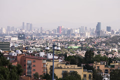 MEXICO CITY FROM SUBURBS