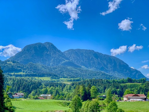 Mountains near Schwoich in Tyrol, Austria