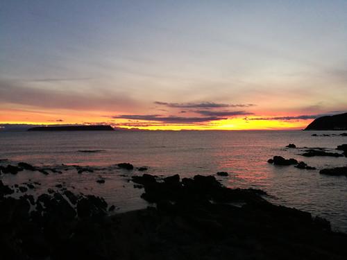 Sunset at Plimmerton-1