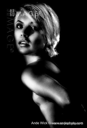 Girl in shadows