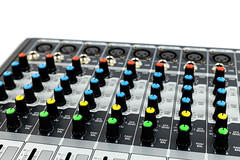 Music Studio Mixer Console Knobs