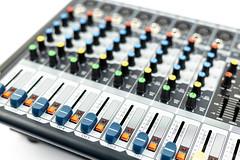 Music Studio Mixer Knobs