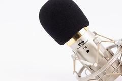 Condenser Studio Microphone with sponge wind shield