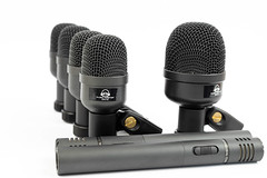 Set of Microphones for Drums