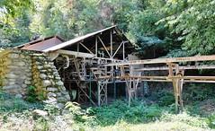 Escaro, ancienne mine de Fluor