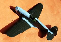 Monogram 1/48 scale Curtiss P-40B underconstruction, IPMS Birimingam Charity Trophy build.