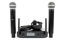Vocal Microphones with Wireless Transmitter