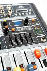 Music Studio Mixer Console equalizer