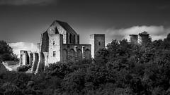 Le Château de la Madeleine N&B. DSC_0068