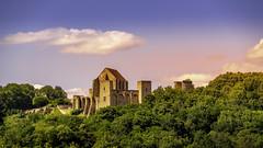 Heure dorée au dessus du Château de la Madeleine. DSC_0067