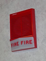 Edwards fire alarm horn/strobe at Taylor Hall