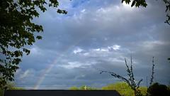 Rainbow over Nova Scotia
