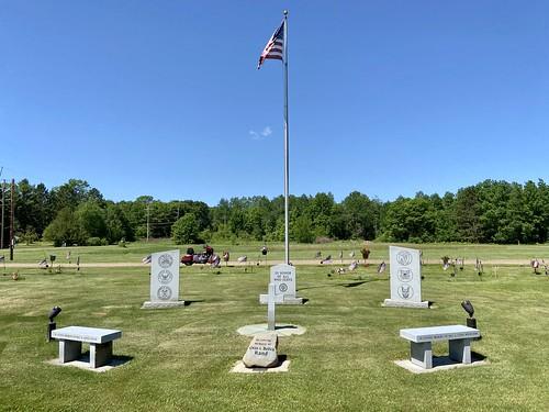 06-05-2020 Ride Veterans Memorial - Webster,WI