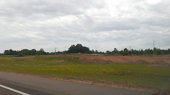 Eastbound McIngvale exit ramp constuction at I-269, Mid May 2020