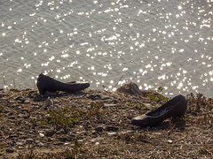 Shoes by Shimmering Water