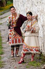 Tibetan Newlyweds